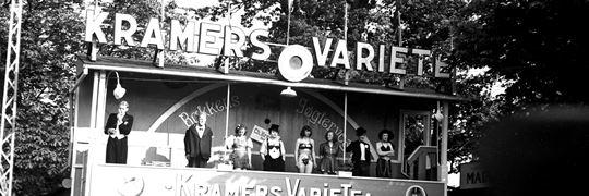 Bakkens Historie Kramers Varieté 1943 Københavns Bymuseum