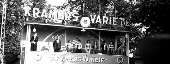 Bakkens Historie Kramers Variete 1943 Københavns Bymuseum