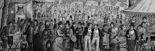 Bakkens Historie En søndag eftermiddag på Dyrehavsbakken i 1800-tallet