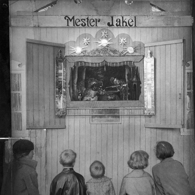 Bakkens Historie Mester Jakel  i 1930erne Københavns Bymuseum