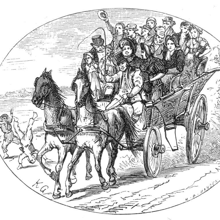 Bakkens Historie I hestevogn til Bakken Byhistorisk Museum Lyngby Taarbaek