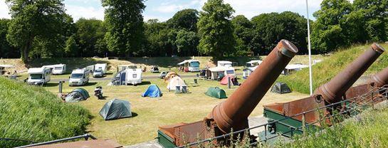 Bakken Overnatning Copenhagen Camping Charlottenlund Fort