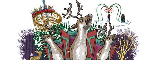 Jul paa Bakken 2018 Hjorte