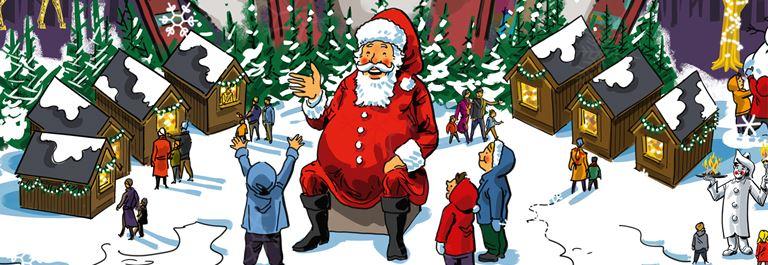 Jul paa Bakken 2018 Julemand