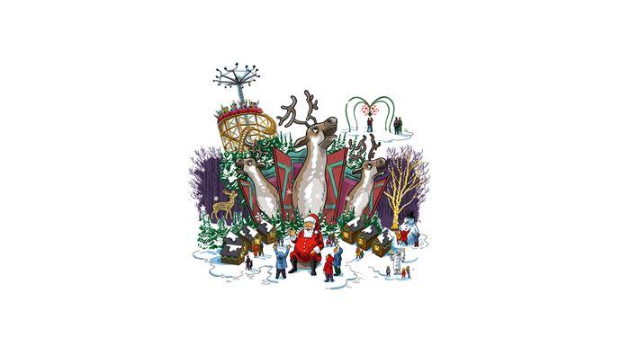 Jul på Bakken - Lej en bid af Bakken