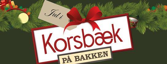 Korsbaek paa Bakken Jul Logo Center