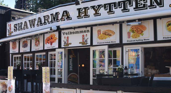 Bakken Restaurant Shawarma Hytten Shawarma