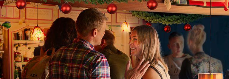 Bakken Jul Julefrokost Beværtning Gruppe
