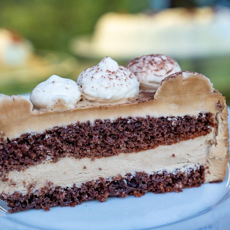 Caesars Palads Kage Chokolade Dessert Bakken Mad