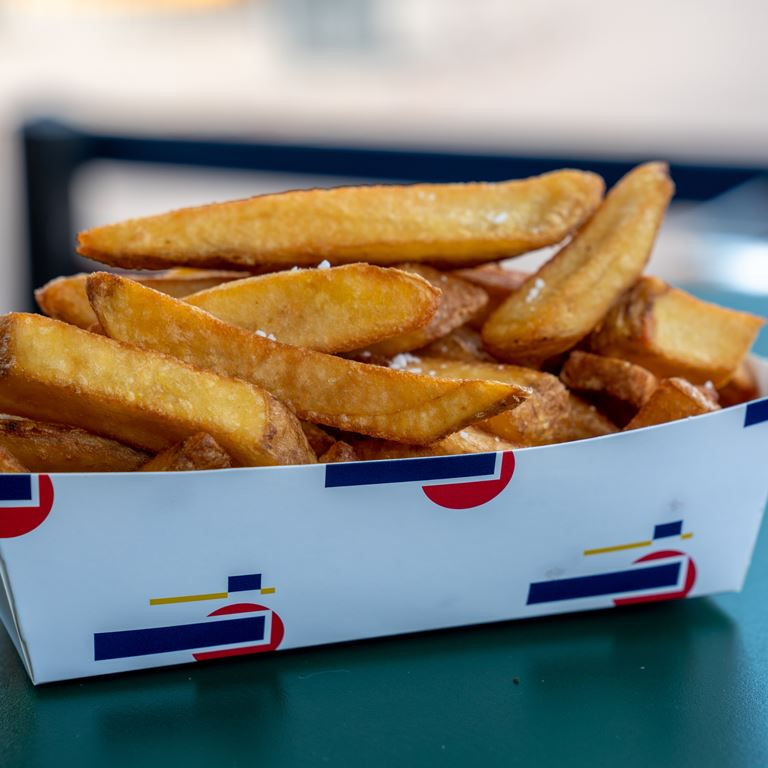 Pommes Oscars Boefbar Fritter Bakken Fastfood