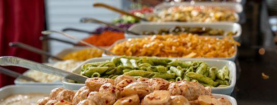 Mad Buffet Salat Skovly Restaurant Bakken