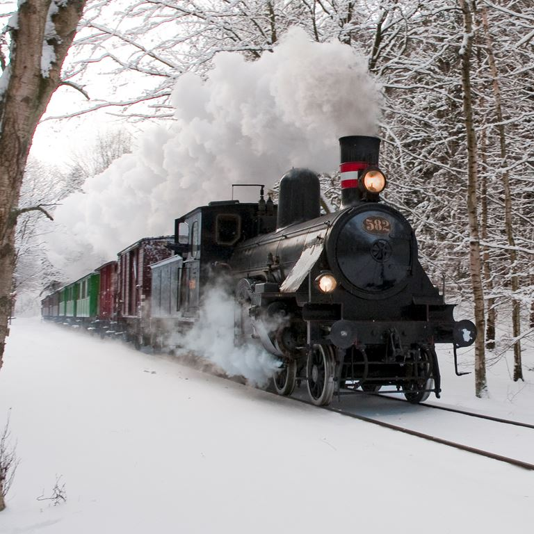 Nordsjællands Veterantog Jul på Bakken 1