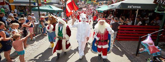 Julemændenes Verdenskongres JMV Parader Pjerrot