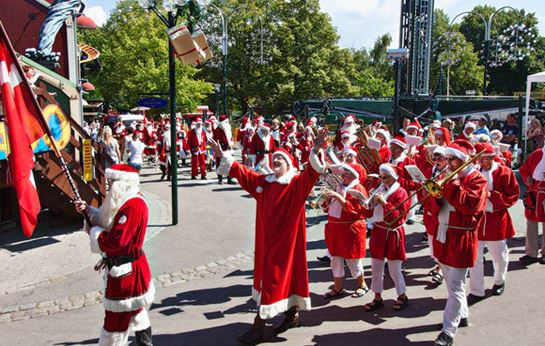 Julemændenes Verdenskongres JMV Parader Musik