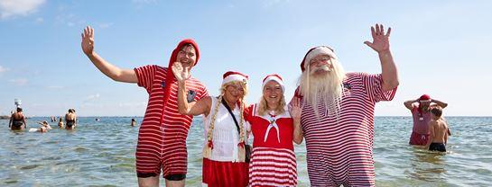 Julemændenes Verdenskongres JMV Bellevue Fodbad 2