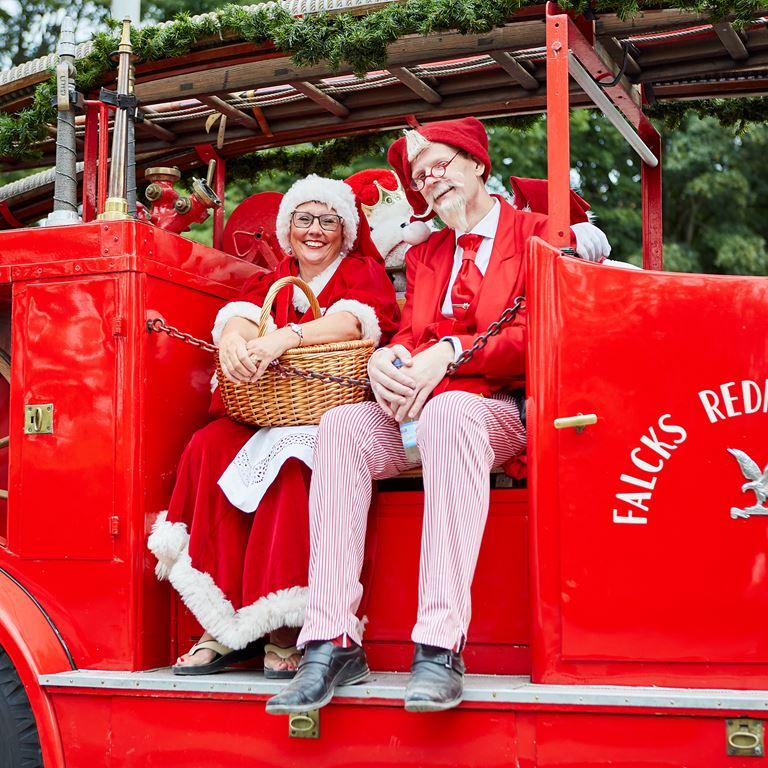 Se hvor transport og forplejning indgår under Julemændenes Verdenskongres på Bakken.