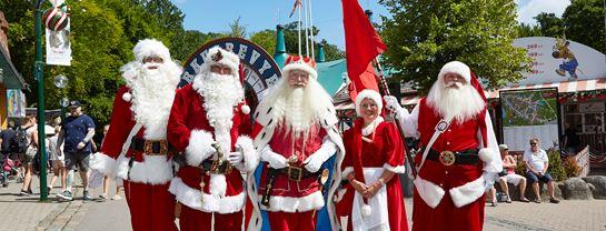 Julemændenes Verdenskongres JMV Julemænd Parade Optog Bakken