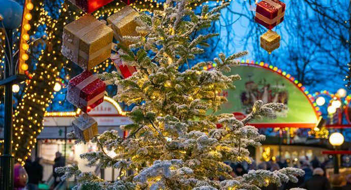 Jul på Bakken 2018 Åbning Juletræ