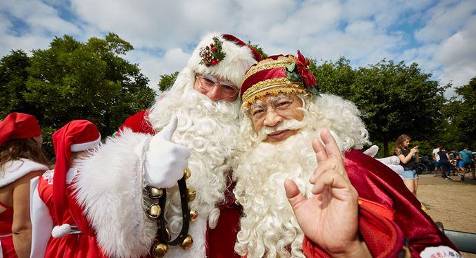 Julemændenes Verdenskongres JMV Julemand Santa Jim 2