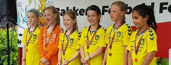 Underholdning Bakkens Fodboldfestival Børn Præmiepodie
