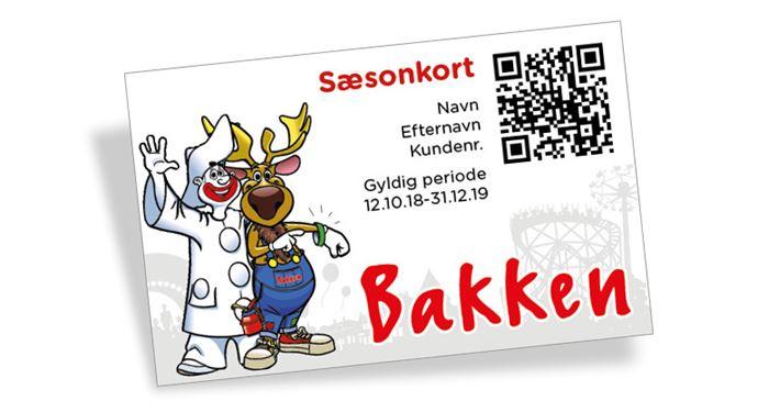 Saesonkort 2019 Bakken Kalle Pjerrot Webshop