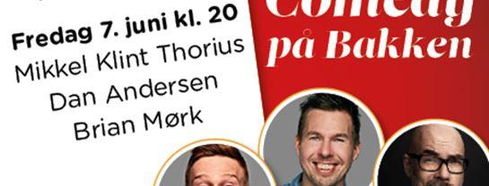 Bakken Underholdning Comedy paa Bakken 7 juni spot program