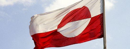 Bakken Underholdning Event Grønlandsdag Flag