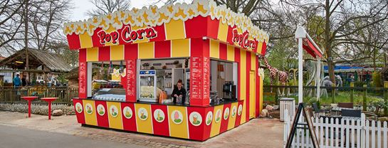 Bakken Cafe Is Fastfood Pop Corn 2019