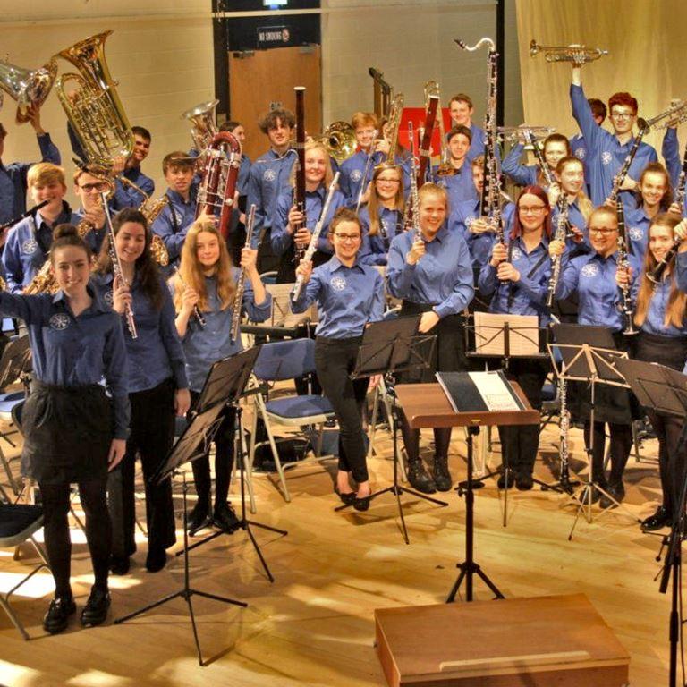 Oplev det fantastiske blæseorkester fra Storbritannien