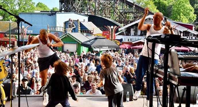 Bakken Underholdning Kunstnere Events Shaka Loveless & Wafande Koncert 2019