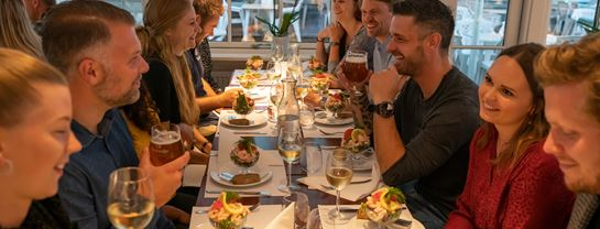 Bakken Grupper Selskab Fest Restaurant Bøgely Frokost
