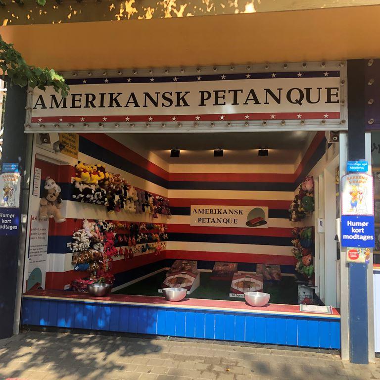 Amerikansk Petanque på Bakken