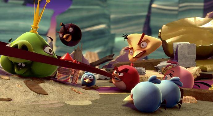 Oplev Angry Birds i 5D Cinema på Bakken - en sjov oplevelse for store og små!