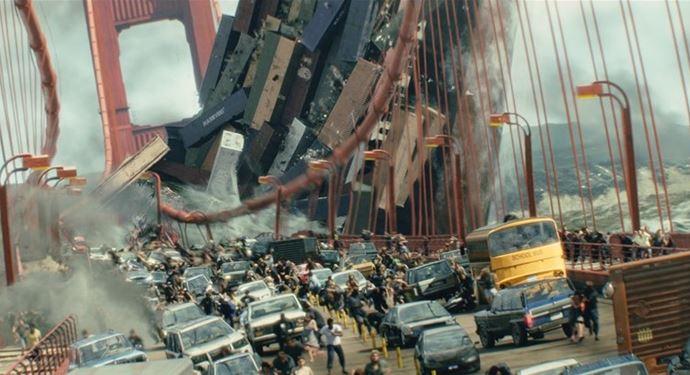 Oplev San Andreas: Motion Movie Experience på Bakken i 5D Cinema