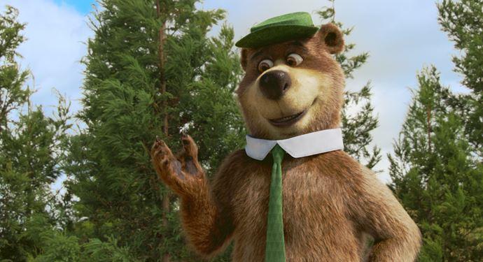 Yogi Bear tager dig med i jagten på sin evige sult og måder i 5D Cinema på Bakken