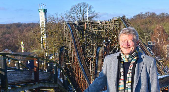 Ole Andersen glæder sig til at tage hul på sin første sæson som direktør for verdens ældste forlystelsespark..jpg