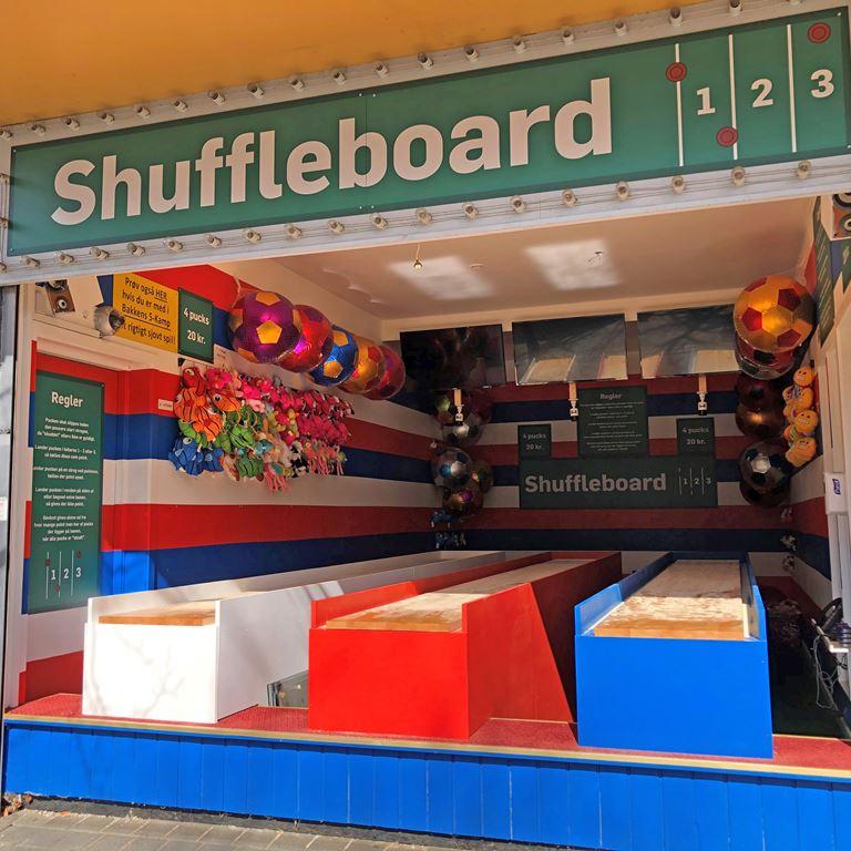 Shuffleboard på Bakken