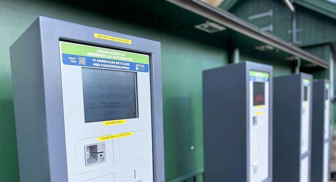 Apcoa Betalingssystem Parkering P-plads Parkeringsplads